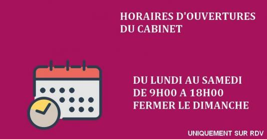 Post horaires ouvertures 2